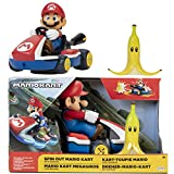 SUPER MARIO Spin Out 2.5' Mariokart - Mario Racer Vehicle