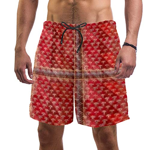 Anmarco Cortina de asiento de coche, secado rápido, traje de baño para hombre, pantalones cortos con bolsillo