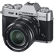 Fujifilm X-T30 silber mit XF18-55mmF2.8-4 R LM OIS Objektiv Kit