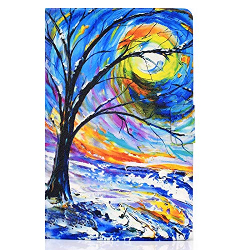 JIan Ying Case for Samsung Galaxy Tab A6 10.1' SM-T580 T585 Gen Slim Lightweight Protective Cover Watercolour