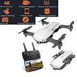 W-star Drone Flux Optique positionnement 4K caméra HD WiFi FPV, RC Quadcopter, Entretien de la Hauteur, Le Retour en Un Seul clic, la Commande vocale, capteur de gravité RC Drone Pliable
