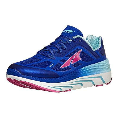ALTRA Women's Duo Road Running Shoe, Blue/Coral - 6 M US
