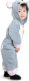 ストリートコップ 干支 ねずみ 鼠 なりきり カバーオール ロンパース ベビー キッズ 長袖 着ぐるみ