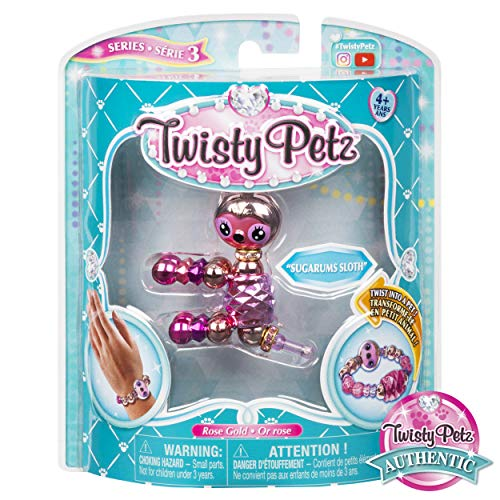 Twisty Petz 6044770 - 2 - in - 1 Verwandlungsarmband für Kinder, unterschiedliche Varianten