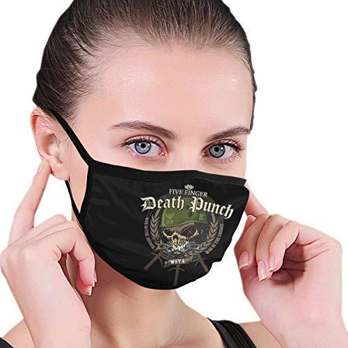 Face Scarf Fi-Ve Fin-Ger Deat-H Pun-Ch Prints Protector Facial Mujeres Cumpleaños Bufanda Bucal Reutilizable Bufanda Facial A Prueba De Viento Invierno Hombres Regalos Lavables Na