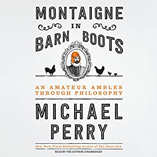 Montaigne in Barn Boots audiobook cover art