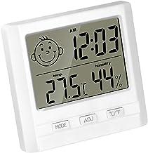 LIOOBO Higrómetro digital termómetro temperatura ambiente medidor de humedad