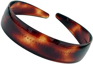 Caravan Our Comfortable Headband Made Of Celluloid Acetate In France In A Gold Betty Color