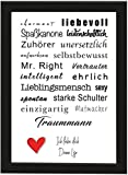 PICSonPAPER Personalisiertes Geschenk für Freund/Ehemann,