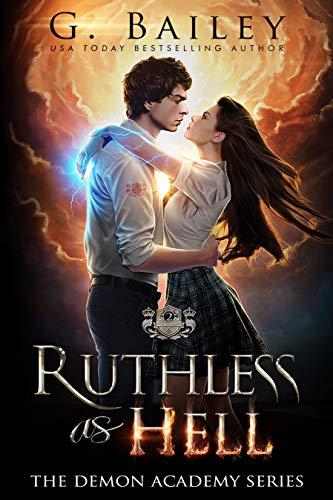 Ruthless As Hell: A Reverse Harem Bully Academy Romance (The Demon Academy Book 2) (English Edition)