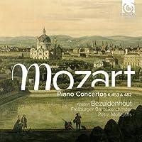 Mozart: Piano Concertos K453 & 482 by Kristian Bezuidenhout (2012-11-13)