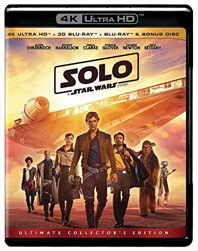 Solo: A Star Wars Story (4K + 3D + Blu-ray + Bonus Disc) (4 Disc)