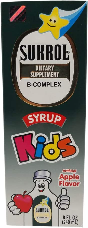 Sukrol B-Complex Dietary Supplement 100% quality warranty for Helps Child Children Im Today's only