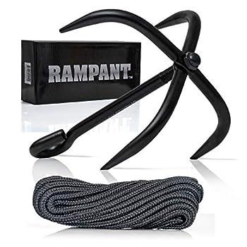 Rampant SPGHOOK Grappling Hook with Rope
