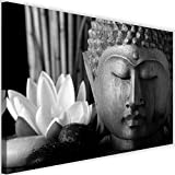Bilder Buddha 120x80 cm Leinwandbild 1 Teilig XXL
