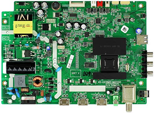 TCL Main Board / Power Supply for 32S3750 (32S3750TAHAA or 32S3750TAGAA Version)
