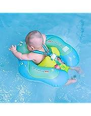 Free Swimming Baby Nadmuchiwany pływak dla niemowląt - pomaga dziecku nauczyć się kopać i pływać w wieku 3-72 miesięcy (zielony, L)