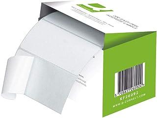 Q-Connect - Etiquetas adhesivas para direcciones (rollo de
