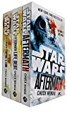 Star Wars Aftermath Trilogy 3 Books Collection Set By Chuck Wendig (Aftermath, Life Debt, Empires End)