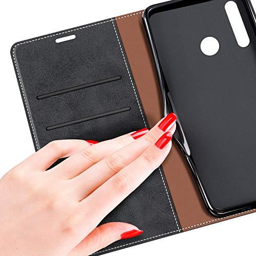 MOBESV Handyhülle für Huawei P Smart Plus 2019, Honor 20 Lite Hülle Leder, Huawei P Smart+ 2019 Klapphülle Handytasche Case für Huawei P Smart Plus 2019 / Honor 20 Lite Handy Hüllen, Schwarz - 6