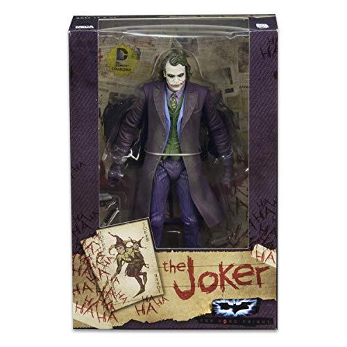 NECA The Dark Knight Joker - Heath Ledger 7? Scale Action Figure by Reel Toys