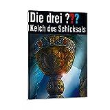 JHDSL Die drei Fragezeichen Kelch des Schicksals Poster,