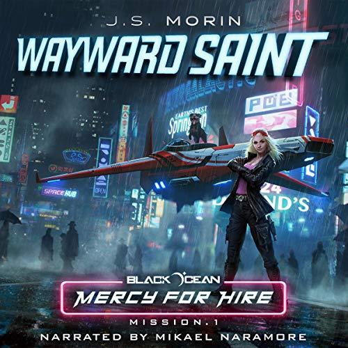 Wayward Saint audiobook cover art