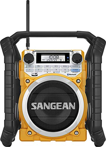 Sangean u4 Digital Negro, Amarillo -...