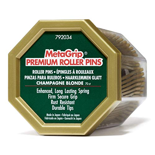 MetaGrip Gold Premium Roller Pins Gold