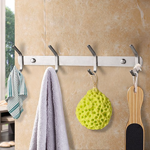 Coat-Hook-SUS304-Stainless-Steel-Wall-Mounted-Coat-Rack-Towel-Hook-with-3-Heavy-Duty-HooksWall-Mount10-InchModelCG-HOOK-Double-3A-by-Cagonlife