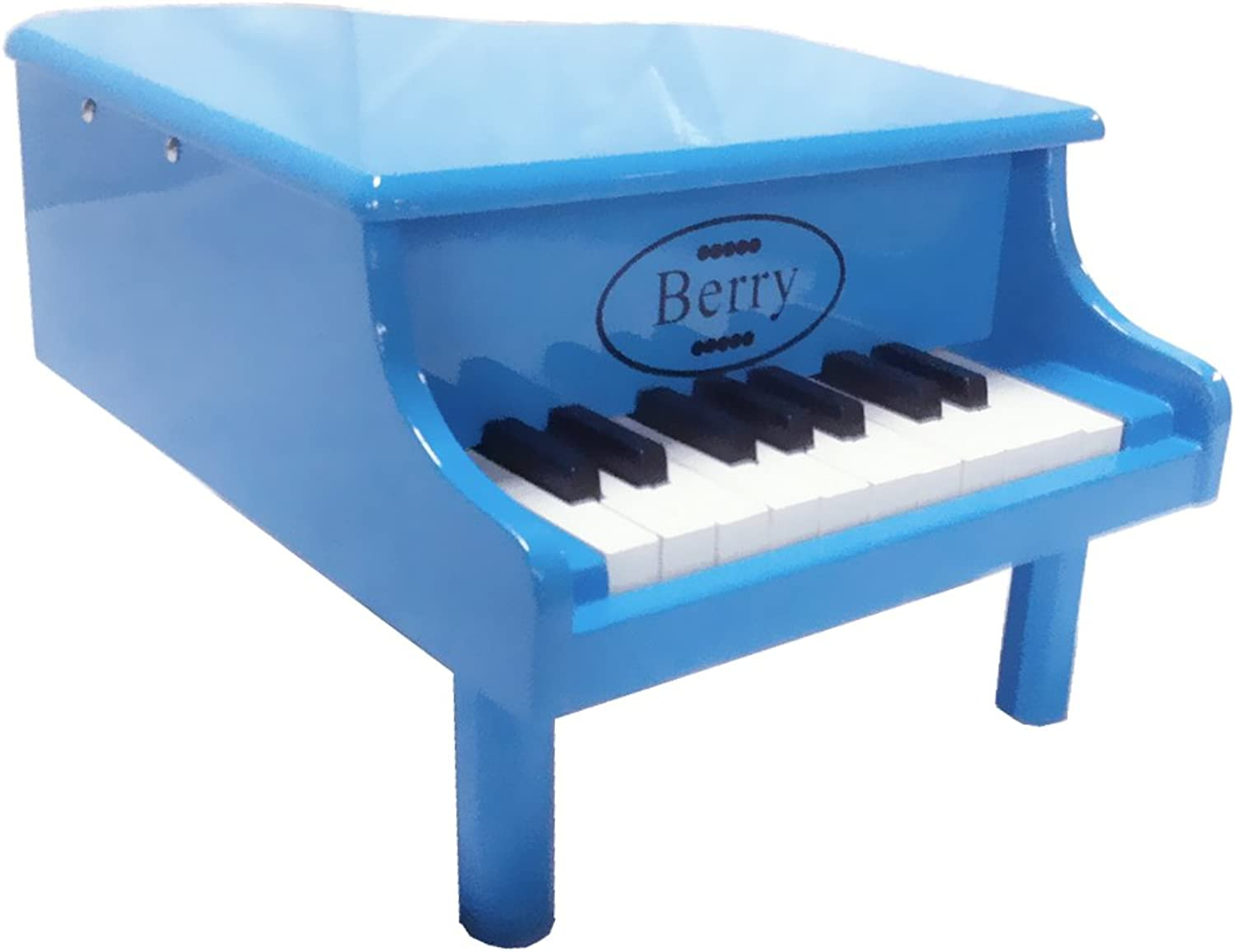 Berry Toys 18Key Baby Toddler Little Grand Piano, bluee