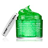 Cucumber Gel Mask Extreme De-Tox Hydrator, Cooling and Hydrating Facial Mask, Helps Soothe...