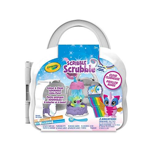 Crayola Canada Scribble Scrubbie Peculiar Rainbow Cloud Play Toy Kit (45295)