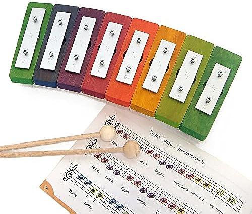 De-Core-Regenbogen Glockenspiel diatonisch 8 Sound DE5780 (Japan-Import)