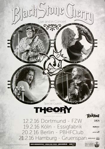 A Day to Remember - Live In Concert, Tour 2016 » Konzertplakat/Premium Poster | Live Konzert Veranstaltung | DIN A1 «