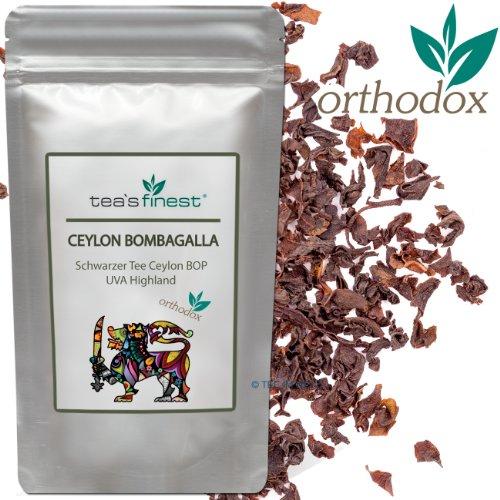 Ceylon BOP Bombagalla UVA Highland - Schwarzer Tee (100 Gramm)