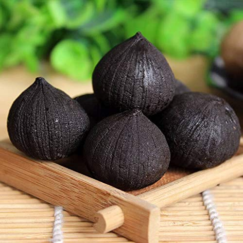 Portal Cool 100pcs Negro Semillas de ajo orgánicos de la herencia siembra de hortalizas cultivar un huerto casero