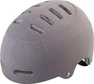 Lazer Armor Deluxe Helmet: Light Gray Fabric MD