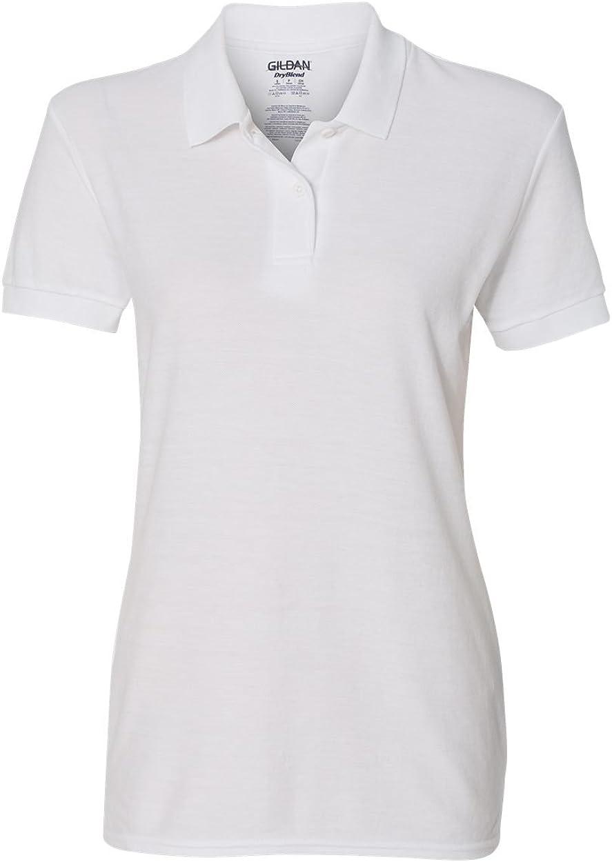 Gildan Ladies DryBlend 6-Ounce Double Pique Sport Shirt 20F
