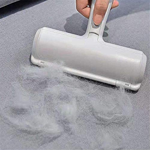 FFDDY Pet Hair Remover, Dog & Cat Fur Remover with Self-Cleaning Base - Efficient Animal Hair Removal Tool - Perfect for Furniture, Couch, Carpet, Car Seat, Pawico Pet Hair Roller