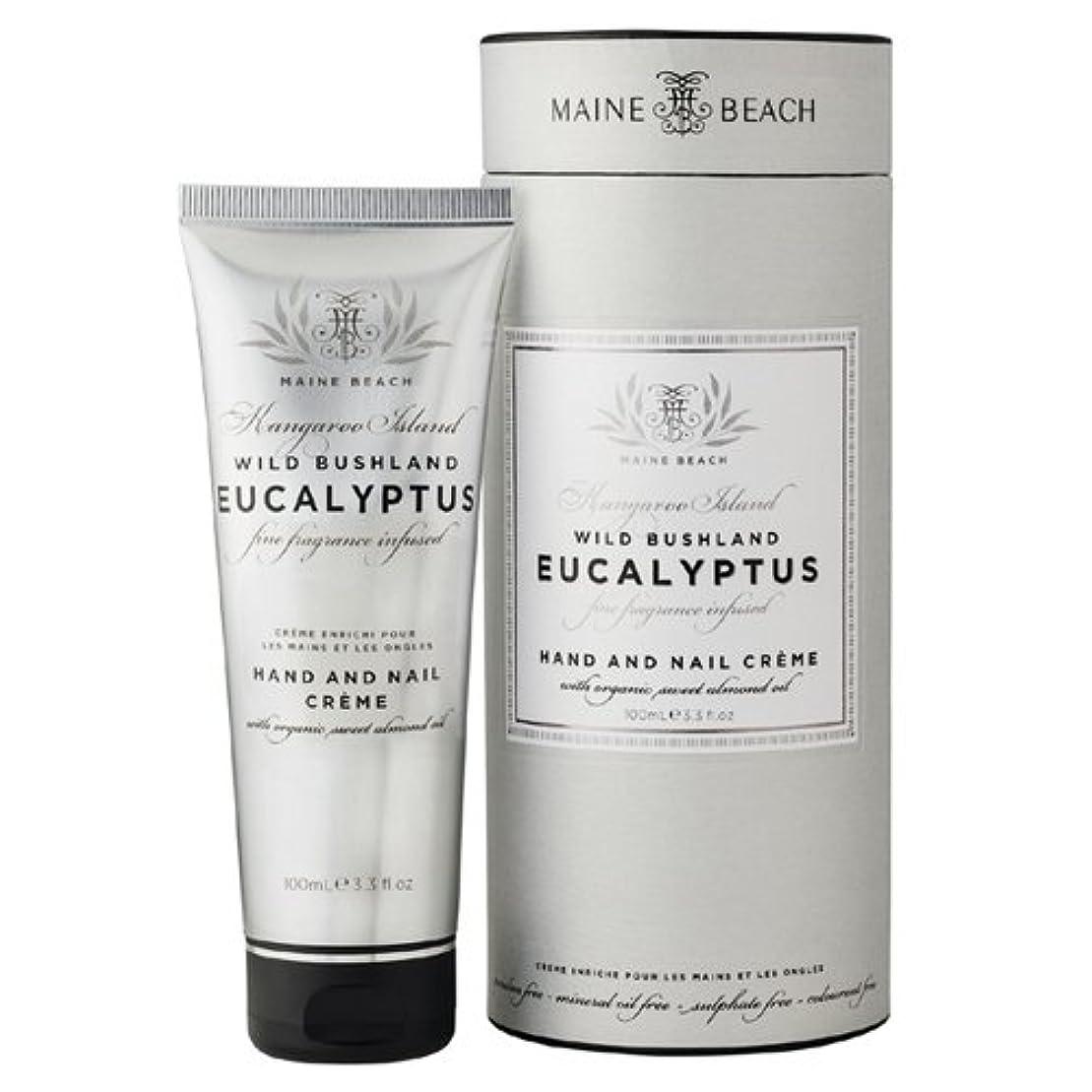 ヒントカポック原稿MAINE BEACH マインビーチ Eucalyptus Series ユーカリオイル ハンド&ネイルクリーム