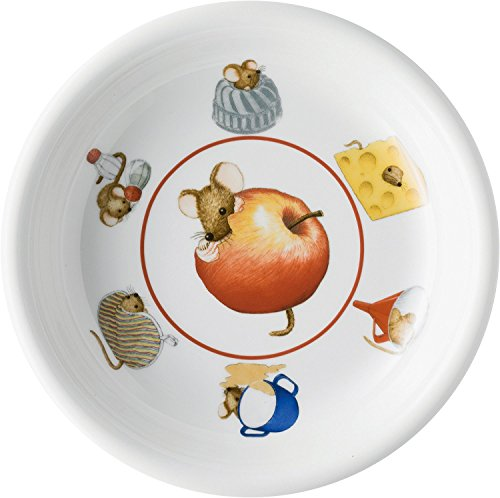 Arzberg Rosenthal Daily - Suppenteller/Teller tief - Küchenmaus - Porzellan - Ø 21 cm