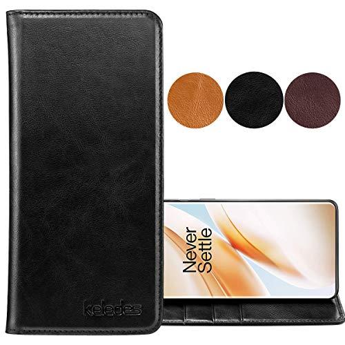 keledes Oneplus 8 Pro Leather Case,…