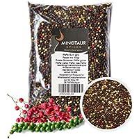 Minotaur Spices Pimienta Colorido Conjunto | x 2 500 g (1 kg) | Negro Pimienta de Colores, Blanco, Granos Verdes y Rosas