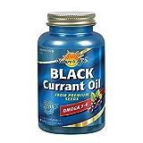 Nature's Life Black Currant Seed Oil 1000 mg | With Omega-3 ALA, Omega-6 GLA and Stearidonic Acid | 60ct