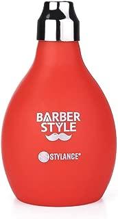 STYLANCE Barber Powder Spray Bottle, Empty Powder Blower, 3.38oz/100ml Refillable Hair Fiber Applicator (Red)