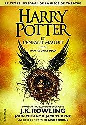 livre Harry Potter et l'Enfant Maudit Parties un et deux