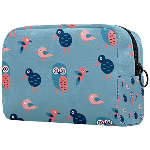 Borse da Toilette,Kiwibird_02 ,make up borse da viaggio,Beauty Case da Viaggio,Cosmetici Trucco Pochette da Toilette Organizer