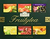 English Teas Selection Pack 'Fruitytea' - A Selection of Six Fruit Flavoured Teas, 6 x 10 Foil Enveloped Teabags - 1272