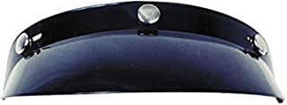 GMAX 3 Snap Bubble Visor GM2 Touring Snocross Snowmobile Helmet Accessories - Black/One Size